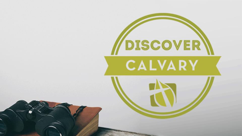 Discover Calvary | Membership Class