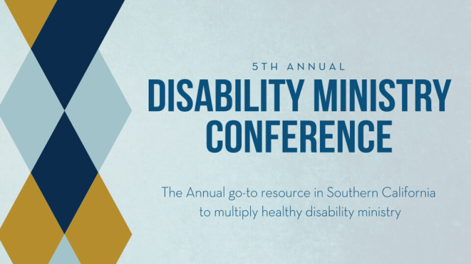 Disability Ministry Conference