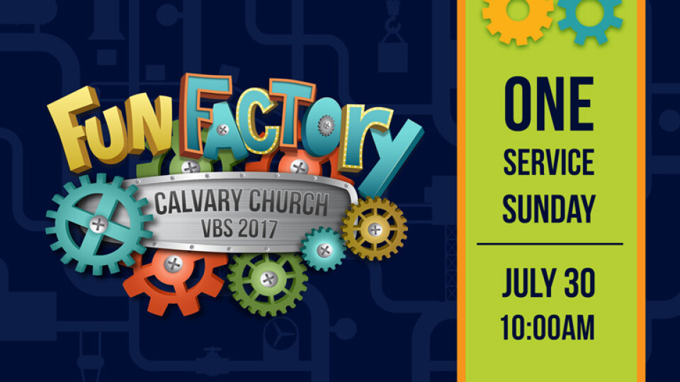 VBS Fun Factory Finale!