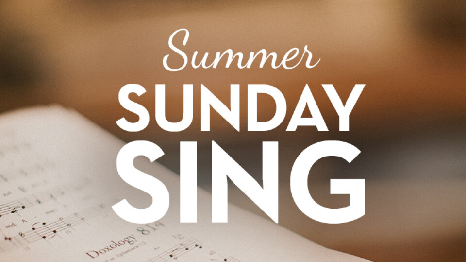 Summer Sunday Sing
