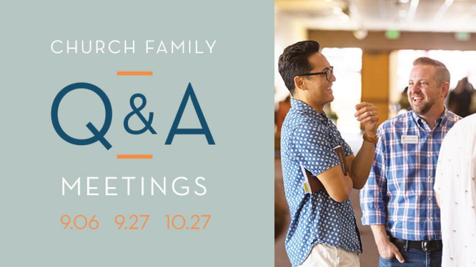 Church Family Q&A Meetings