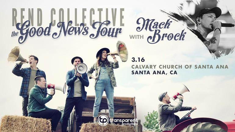 Rend Collective & Mack Brock Concert