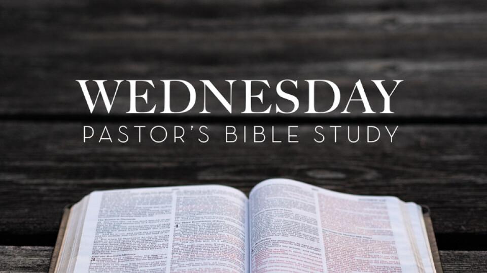 Wednesday Pastor
