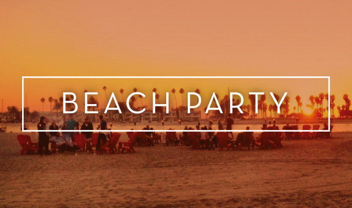 Beach Party - Aug 11 2019