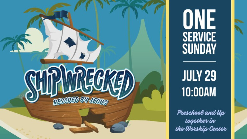 Shipwrecked VBS One Service!