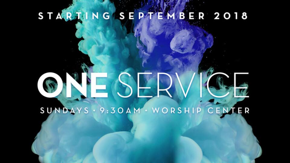 One Service Sundays