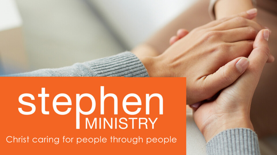 Stephen Ministry Training