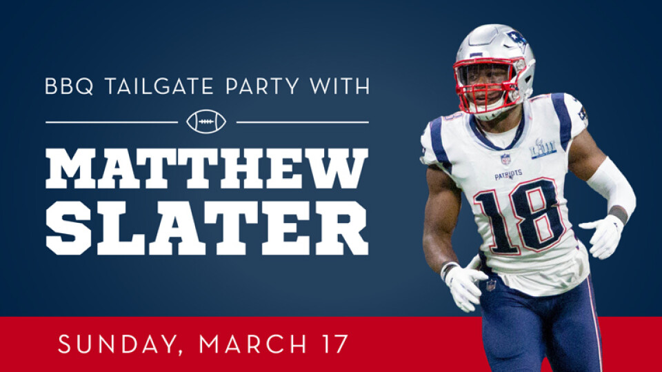 BBQ Tailgate Party with Matthew Slater