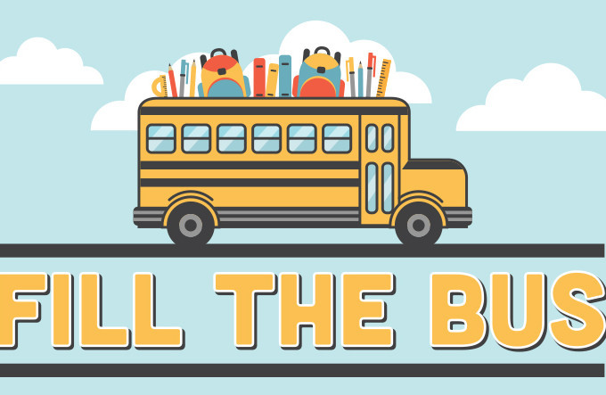 """Fill the Bus"" - Backpack Drive"