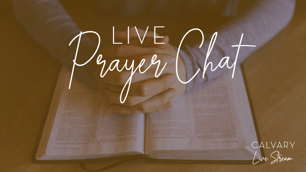 Live Prayer Chat
