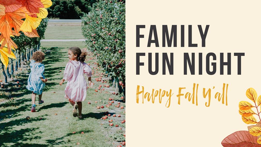 Fall Family Fun Night